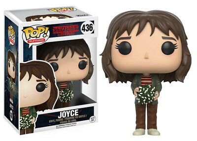 Stranger Things Joyce with Xmas Lights Vinyl POP! Figure Toy #436 FUNKO NEW MIB