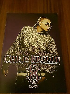 Chris Brown tour programme 2009