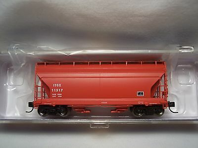Athearn - N-Scale ITGX ACF 2970CF 2-Bay Center Flow Hopper - ITGX11517