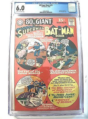 80 Page Giant # 15 CGC 6.0