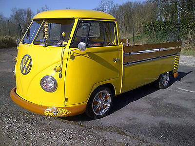 vw splitscreen single cab pick up 1959 rot free import super type 2 camper split