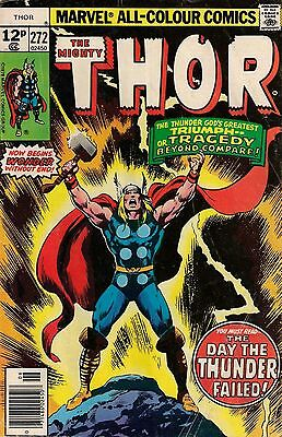 THOR # 272  MARVEL COMICS  1978  f-