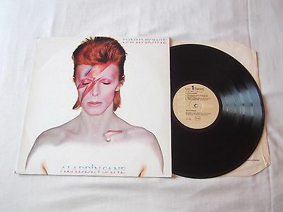 "David Bowie "" Aladdin Sane "" RCA Victor Record Label"
