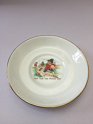 Tom Tom The Pipers Son Pin Dish Nursery Ware