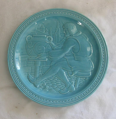 Original 1939 NEW YORK WORLDS FAIR Fiesta PLATE American Potter 7 1/8""