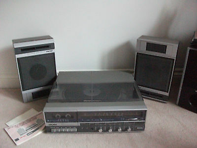 Vintage BUSH 8820 Stereo Record Player/Radio/Cassette/Recorder