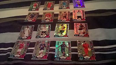 Match Attax 2016/17 Trading Cards 16 Special Cards Freestyler Set Piece Game Cha