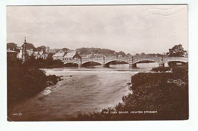 The Cree Bridge Newton Stewart Wigtown 1880 Real Photograph Mitchell Zetland Rd