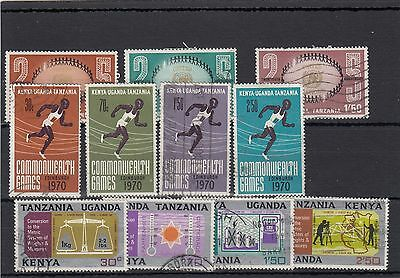 K.u.t. 11  -- 1970/71  Used Stamps On Stockcard