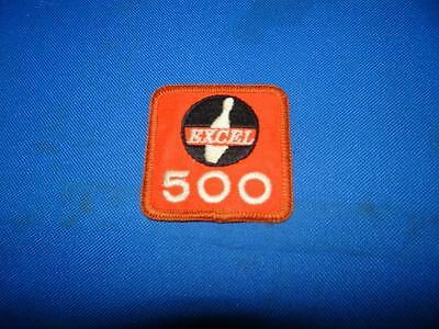 Vintage Excel 500 Ten Pin Bowling Cloth Patch