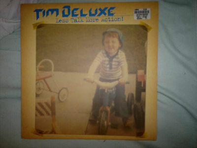 """Tim Deluxe - Less Talk More Action! 12"""" heavyweight vinyl"""
