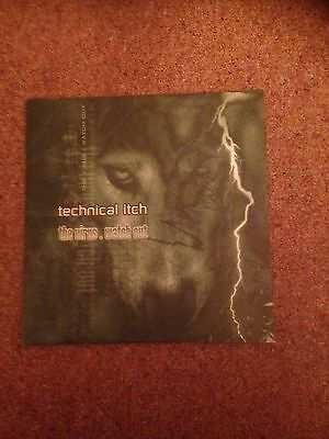 Technical Itch  the virus  12 inch moving shadow mint