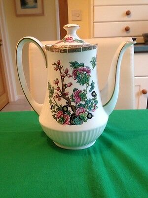 Vintage Duchess Indian Tree Coffee Pot. Beautiful Condition.