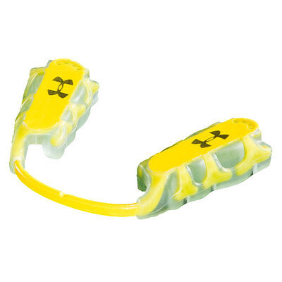Under Armour UA ArmourBite Multi-Sport Lower Mouthpiece - Yellow - Adult