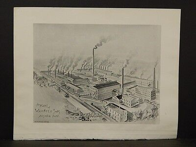 Connecticut, Map, 1893, The Works of Wallace & Sons Ansonia Conn, L5#55