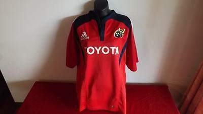 Munster Rugby Adidas Jersey In Great Cond Size L