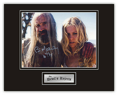 Sale! Devils Rejects Bill Moseley (Otis Driftwood) Signed 14x11 Display