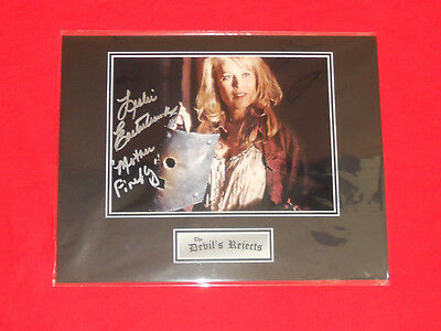 Sale! Devils Rejects Leslie Easterbrook (Firefly) Signed 14x11 Display