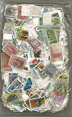 200+ grammes Off Paper AUSTRALIA - Great Mix - Thousand's  of stamps( Lot 2 )