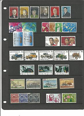 AUSTRALIA Collection of complete sets - Used- High Cat Value ( Lot 1 )