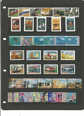AUSTRALIA Collection of complete sets - Used- High Cat Value ( Lot 2 )