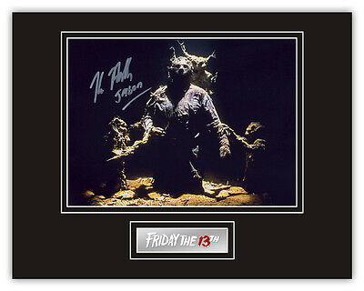 Sale! Friday The 13th Kane Hodder (Jason Voorhees) Signed 14x11 Display