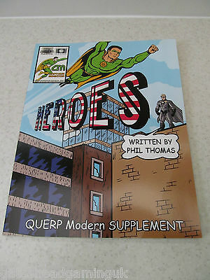 Querp Heroes Roleplaying Super Hero RPG Supplement by Phil Thomas