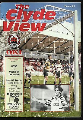 Clyde v. Queen of the South -  Jan 95