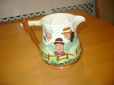 Lancaster Sandland Ware Character Jug Uncle Tom Cobleigh and all