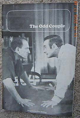 The Queens Theatre Programme - The Odd Couple - Jack Klugman, V.spinetti - 1966