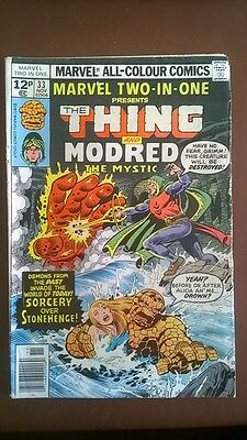 The Thing and Mordred No.33 Marvel Comics
