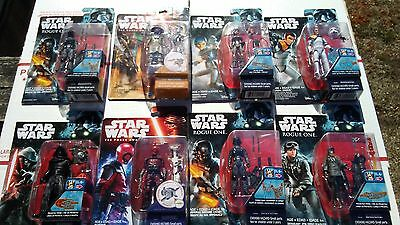8 New Star Wars Action Figures / Hasbro Disney Toys