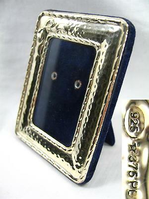 Antique Art Nouveau Style Solid Silver 925 Picture Photograph Frame Weighs 48 g