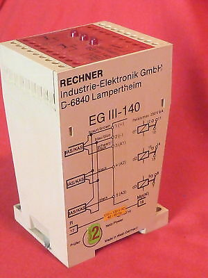 Rechner Egiii-140 Egiii140 Safety Relay 220-250V 6A
