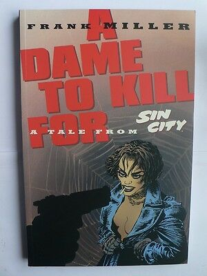 Sin City.A Dame to Kill For.Graphic Novel.GN TPB.Frank Miller.Dark Horse