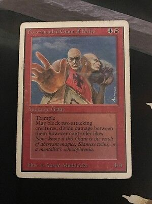 MTG Two-headed Giant Of Foriys Unlimited