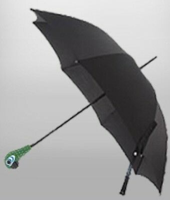 NEW Disney Mary Poppins Parrot Head Adult Full Size Black Umbrella- Costume