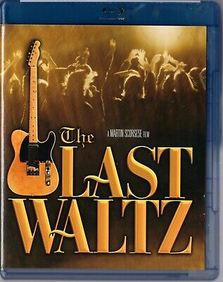 The Last Waltz (Blu-ray Disc, 2009)   Director Martin Scorsese   BRAND NEW