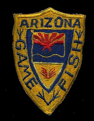Arizona Game and Fish Police Warden Ranger Reproduction Patch S-16