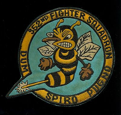 USAF 352nd Fighter Squadron Patch S-21