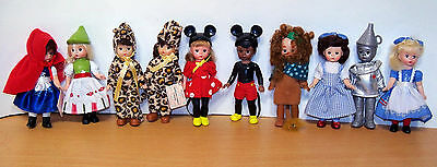 Lot of McDonald's Madame Alexander Dolls - Wizard of Oz, Fairy Tale & More