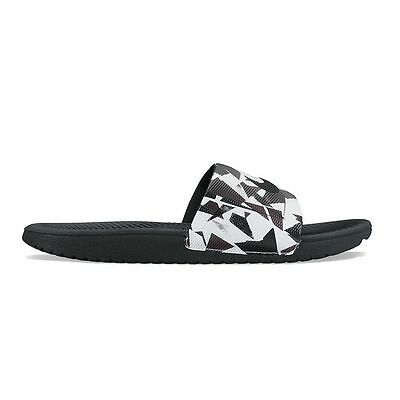 New Nike Kawa Print Men's Slide Sandals Gray size 7 8 9 10 11 12