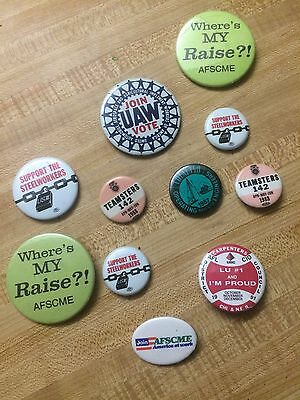 Union Pinback Buttons