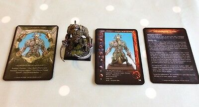 Rackham Confrontation Hybrid Game Dirz Centurus Clone Model Painted With Cards