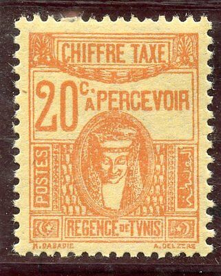 Stamp / Timbre Colonies Francaises Tunisie Taxe Neuf N° 41 *