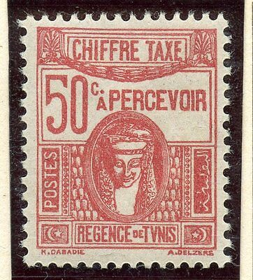 Stamp / Timbre Colonies Francaises Tunisie Taxe Neuf N° 43 *