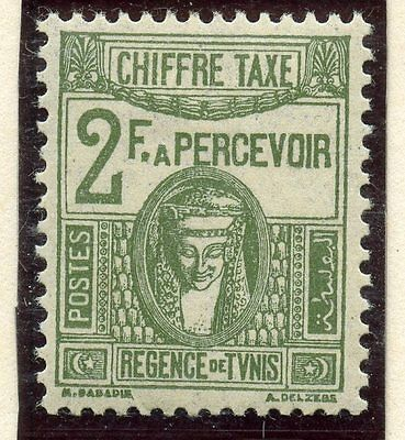 Stamp / Timbre Colonies Francaises Tunisie Taxe Neuf N° 48 *