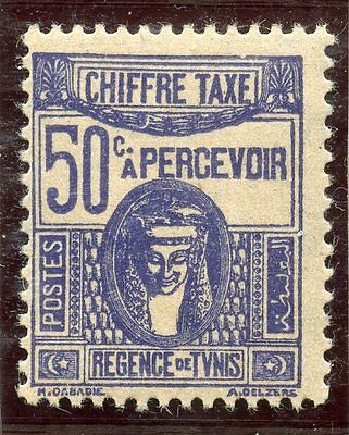 Stamp / Timbre Colonies Francaises Tunisie Taxe Neuf N° 60 **
