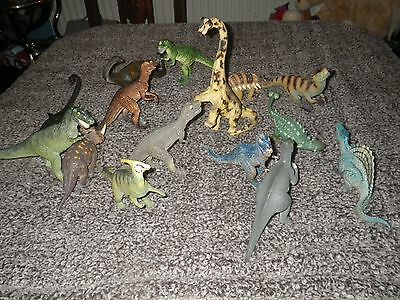 Toy Dinosaurs  X  15
