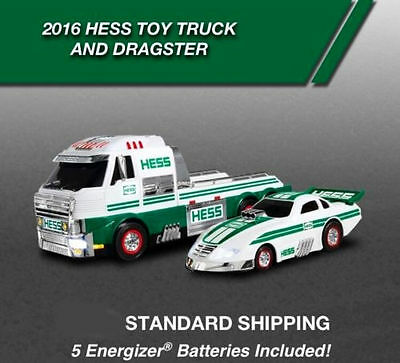 Hess Toy Truck and Dragster 2016  -Batteries included NEW IN BOX !!!